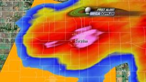 Radar Corydon Hail Core