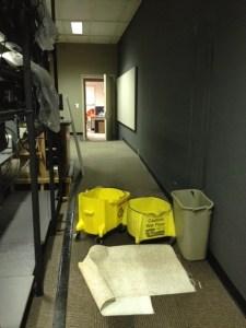 Buckets in Control Room
