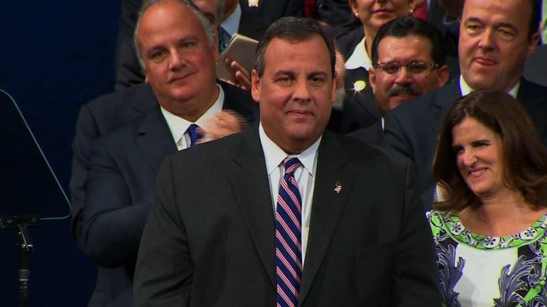 Chris Christie Sworn in