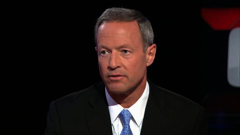 Gov. Martin O'Malley (D-Maryland) -- CNN
