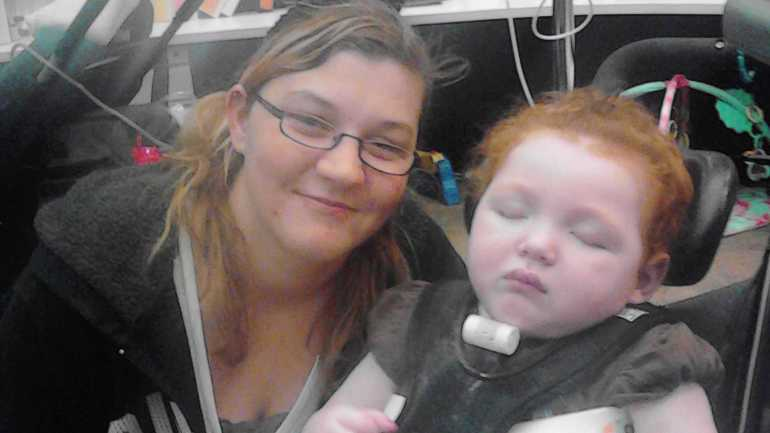 Three-year-old Kelly Yeager suffers from a seizure disorder doctors say will one day kill her.