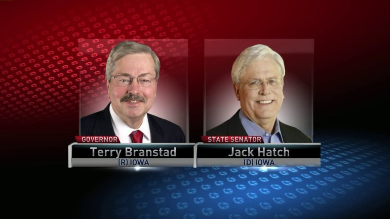 Terry Branstad and Jack Hatch. (WHO-HD)
