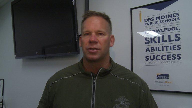 North High football Coach Sean Quinlan. (WHO-HD)