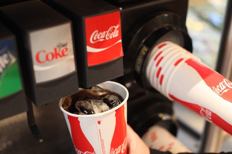 Coca Cola Fountain Drink