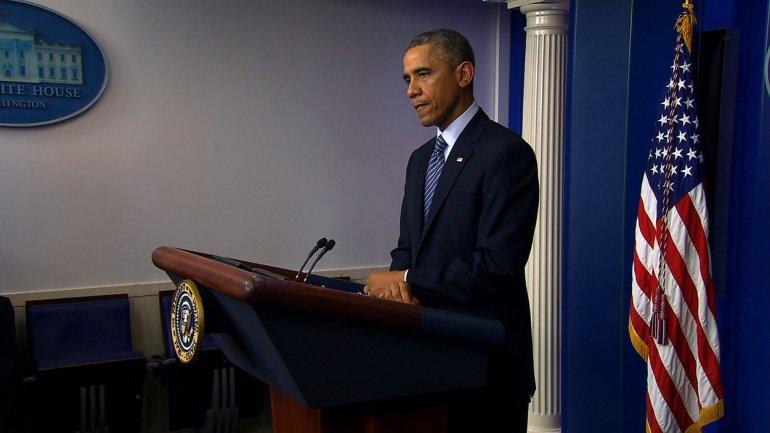 Obama speaks about Ferguson