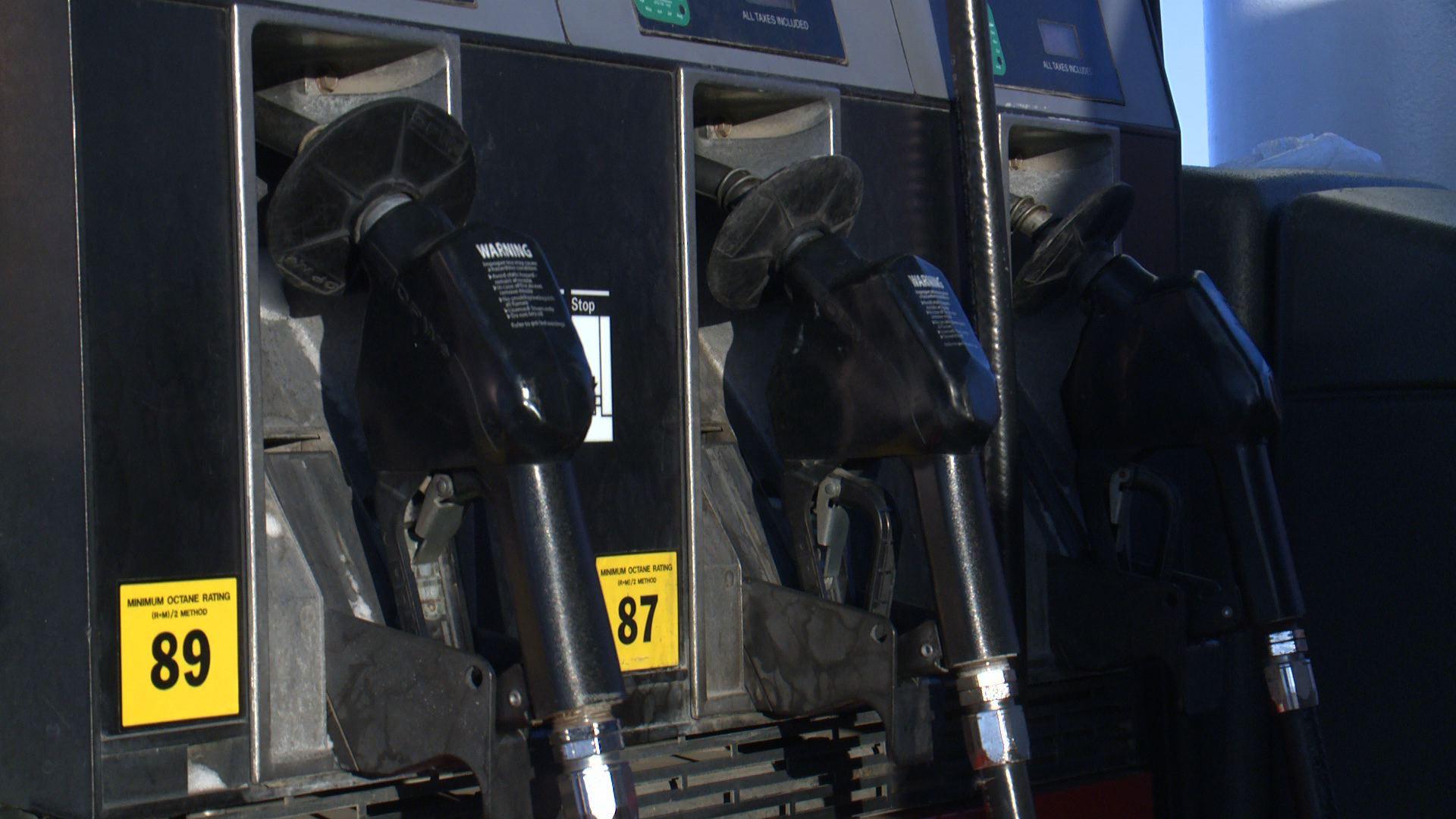 Gas pumps. (WHO-HD)