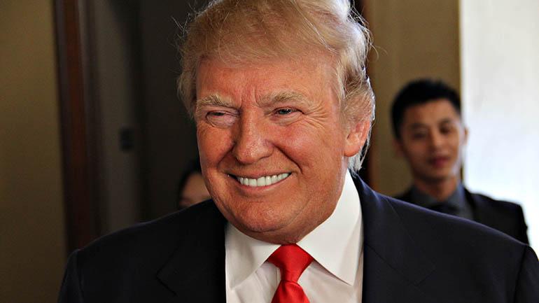 Donald Trump at the Iowa Freedom Summit (WHO-HD/Sam Hoyle)
