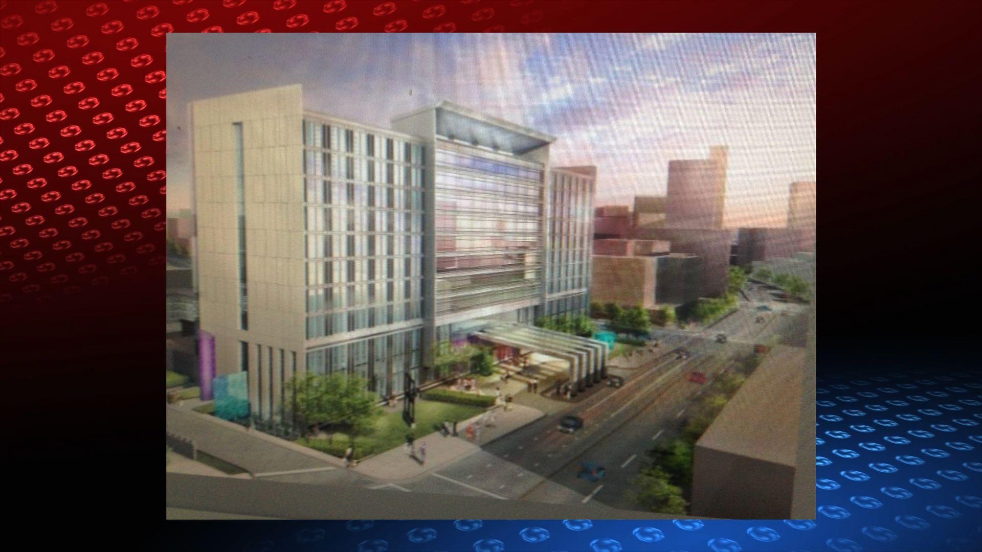 Proposed Iowa Events Center Hotel