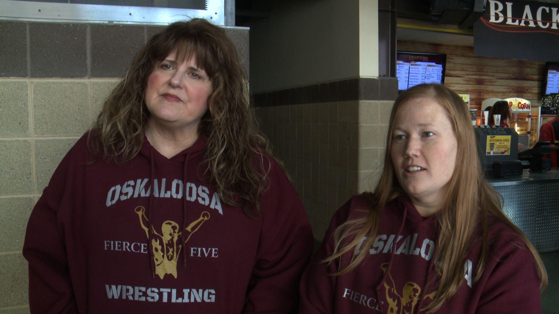 Wrestle Moms still