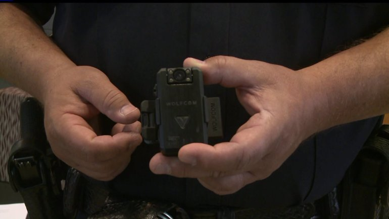 Urbandale police officers are now wearing body cameras. (WHO-HD)
