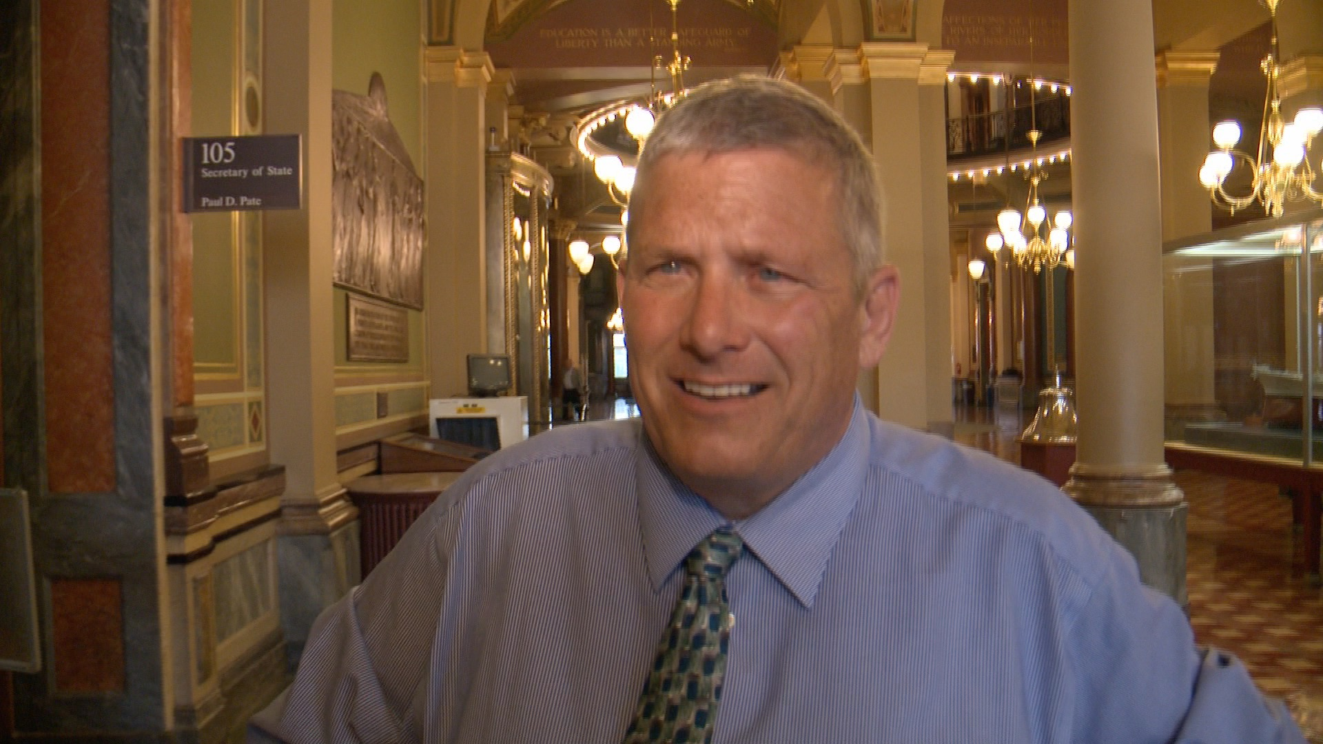 Iowa Secretary of Agriculture and Land Stewardship Bill Northey (Roger Riley WHO-HD)