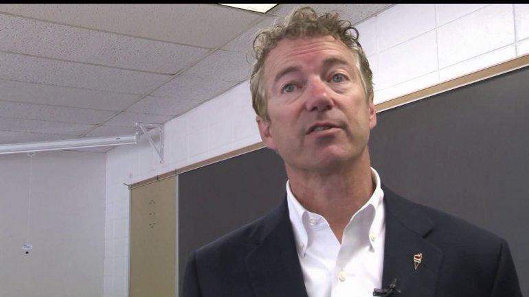 Republican presidential candidate Sen. Rand Paul(WHO-HD)