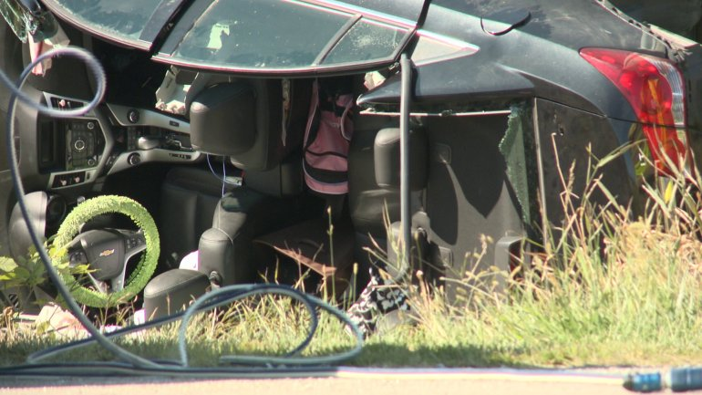 Two People Taken to Hospital After Car Crash Near Pella