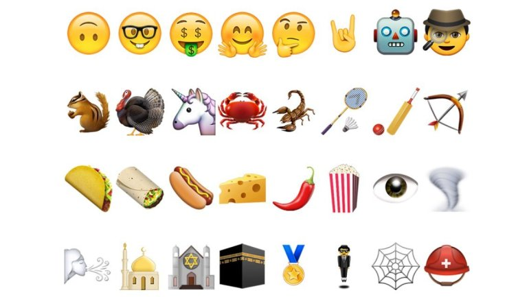 "The slew of new emoji icons includes a burrito, a taco, the unicorn head, and a detective. The most scandalous new Apple emoji is a hand with the middle finger extended, the international symbol for ""We're number 1!"""