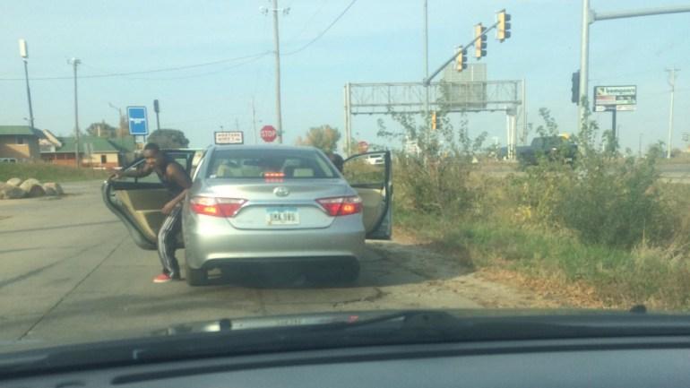 ROAD RAGE SUSPECT VEHICLE