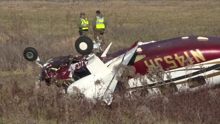 Plane crash near Council Bluffs. (WHO-HD)