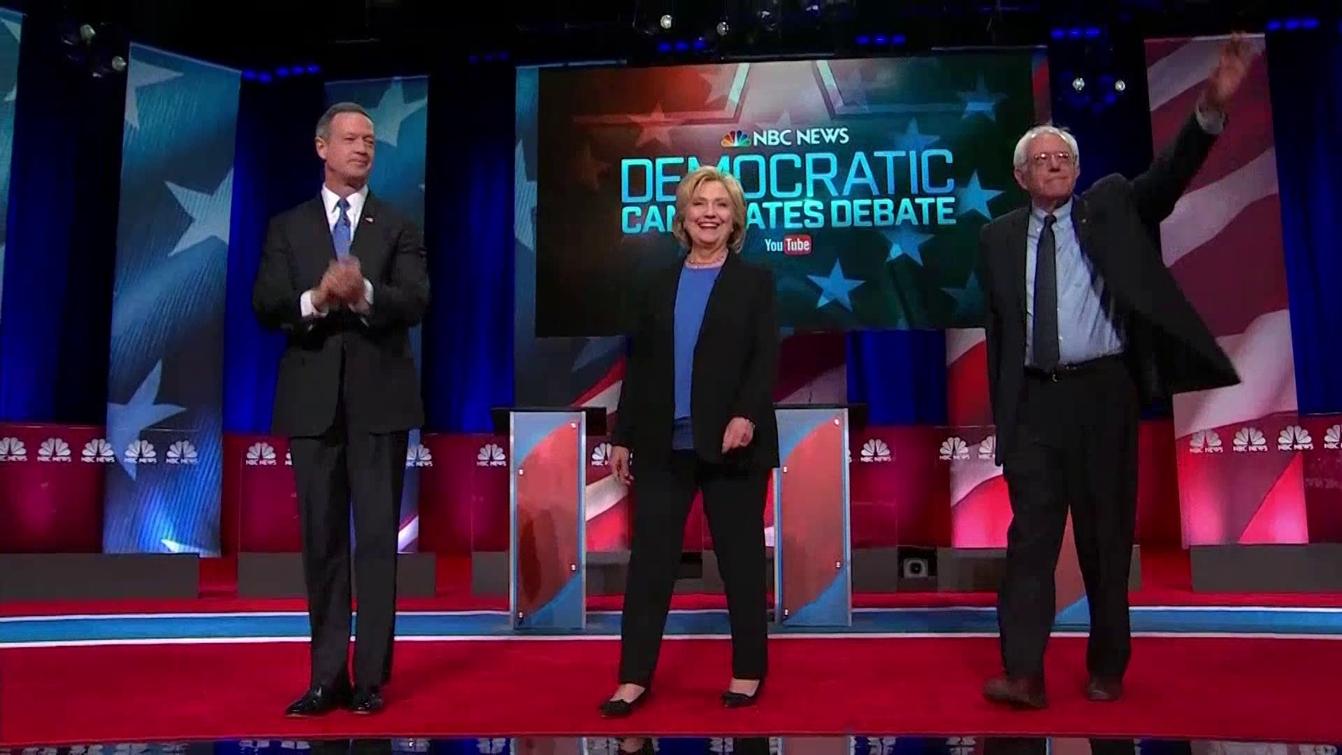 Democratic debate hosted by NBC (NBC)