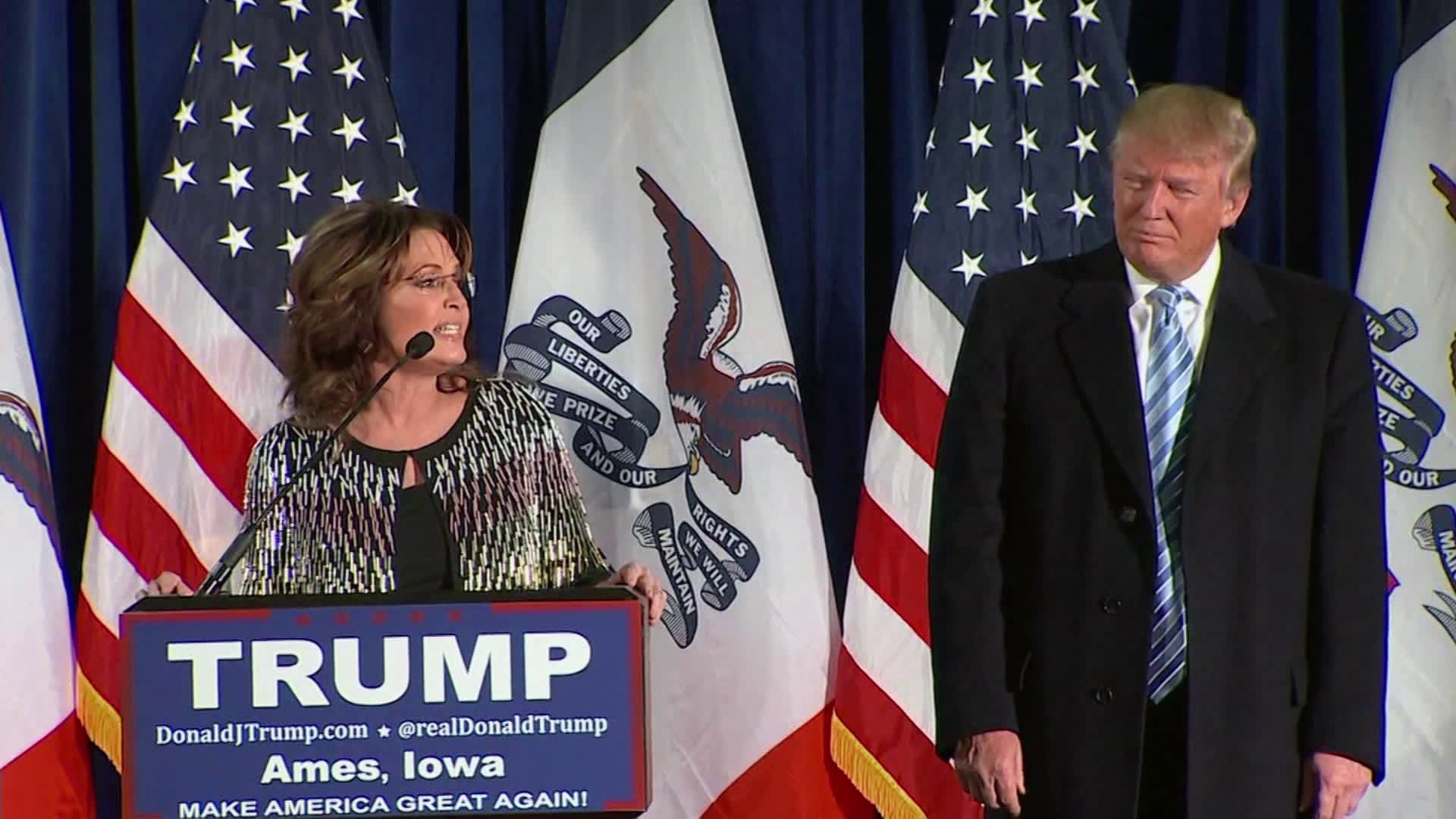 Sarah Palin and Donald Trump (WHO-HD)