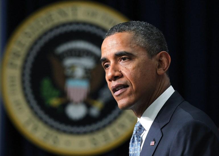 WASHINGTON, DC - FEBRUARY 14: U.S. President Barack Obama  (Photo by Alex Wong/Getty Images)