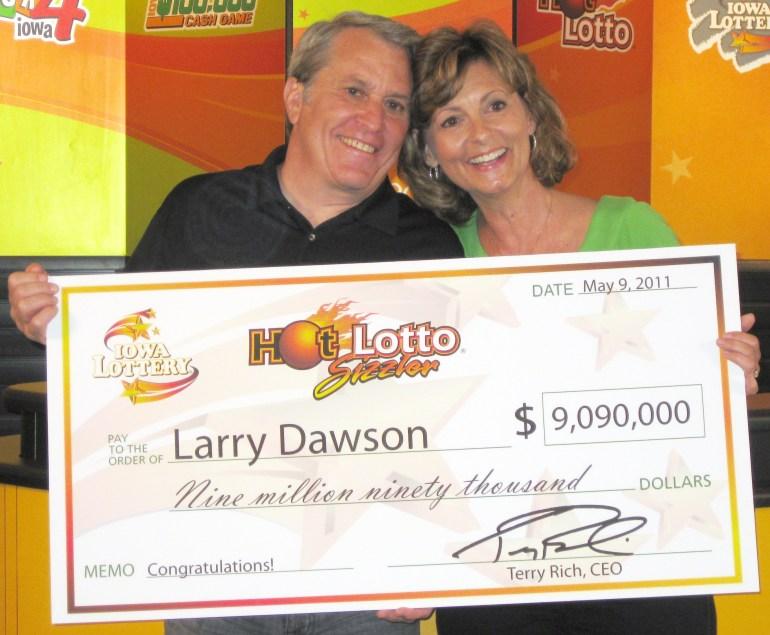 Larry Dawson/Iowa Lottery