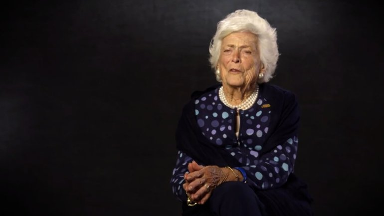 """Former first lady Barbara Bush is urging voters in both a new video and in a hand-written letter to vote for her second-eldest son, making her first public appearance on behalf of his campaign. While Barbara Bush has so far lent her name to fundraising letters and appeared at donor retreats, as well as Jeb Bush's announcement speech last summer, she has yet to have a more public presence on the campaign. In the video obtained by CNN, she praises her son for being a """"good father"""" with a """"big"""" heart and makes what could be interpreted as a subtle dig at the current GOP frontrunner, Donald Trump."""