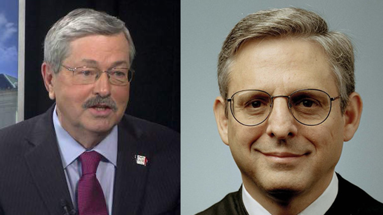 Branstad (WHO-HD), Garland (CNN)