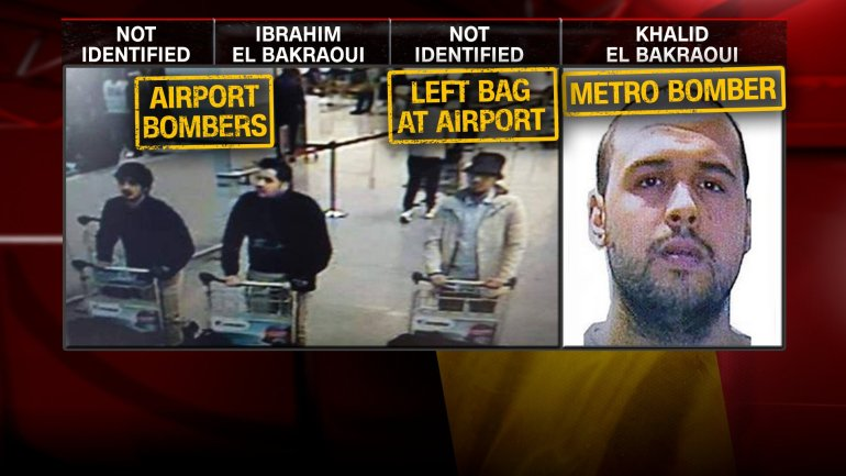 Two brothers, Ibrahim El Bakraoui and Khalid El Bakraoui blew themselves up during bloody terrorist attacks in Brussels on March 22, 2016.
