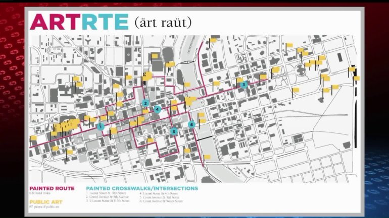 ART RTE route
