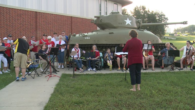 The Iowa Gold Star Military Museum hosted its annual Memorial Day observance and open house Monday. Guests toured vintage and modern military vehicles and enjoyed a free breakfast. (WHO-HD)
