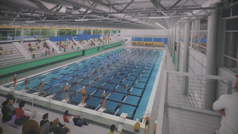 Plans for Wellmark YMCA aquatic center. (WHO-HD)