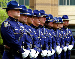LSP louisiana state police honor guard