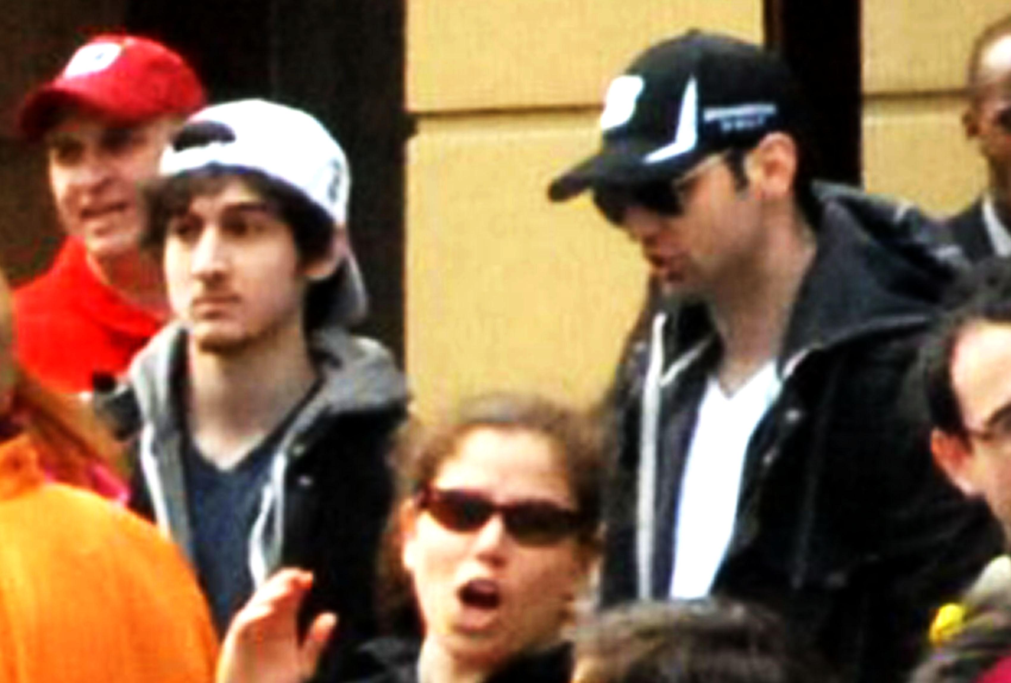 Tsarnaev Brothers at the Boston Marathon