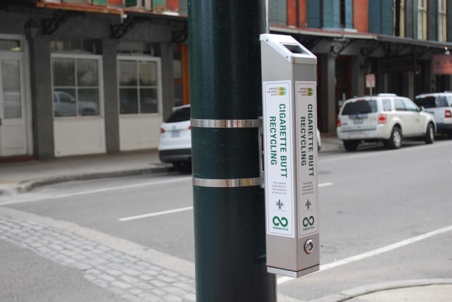 cigarettes butt recycling