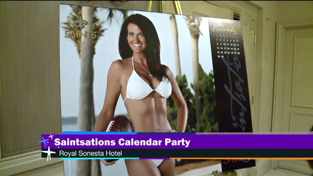 Fabulous at 40: Saintsation Kriste Lewis Lands Ms. November Spot in Swimsuit Calendar