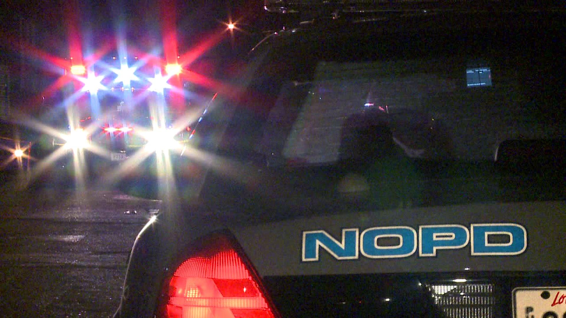 NOPD squad car