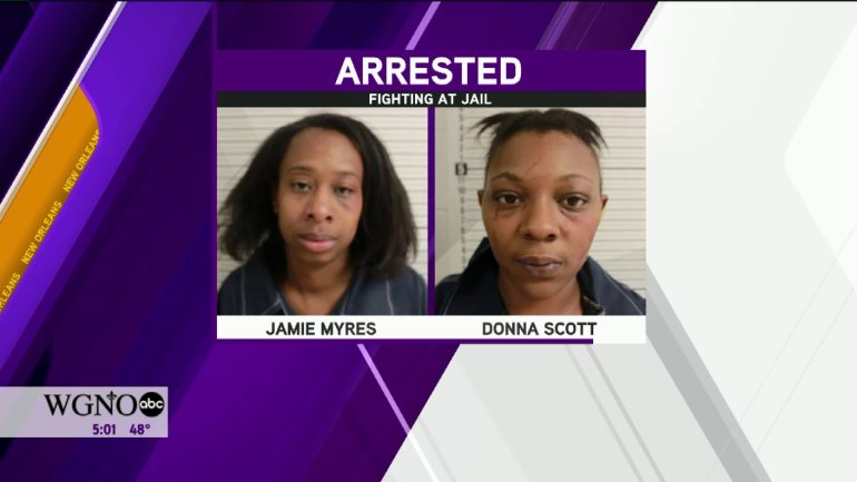 Jamie Myres and Donna Scott arrested