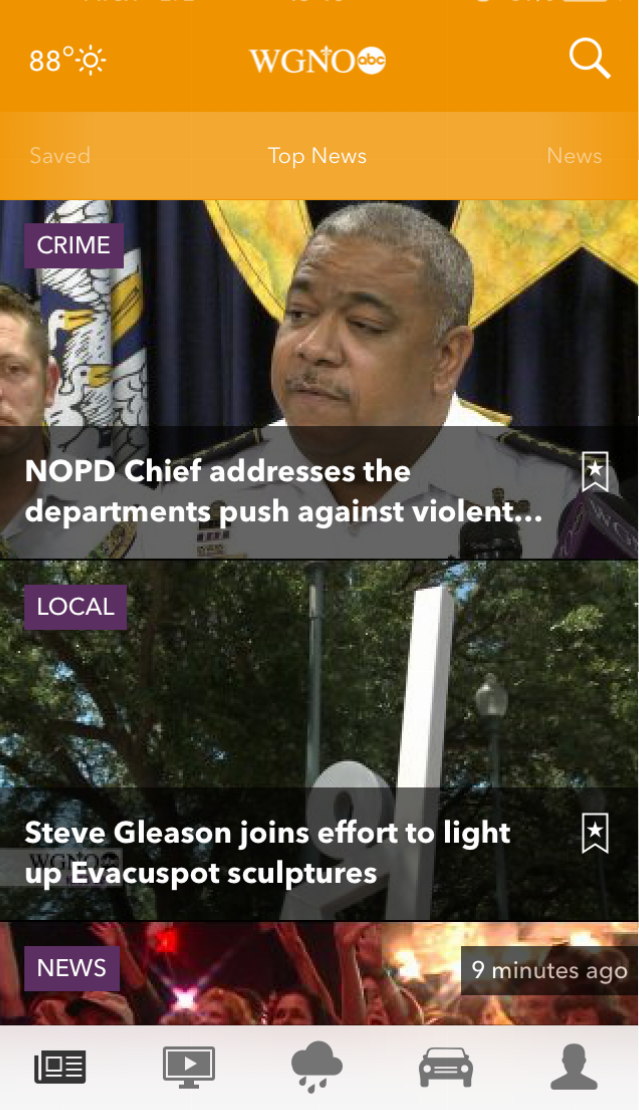 WGNO News App