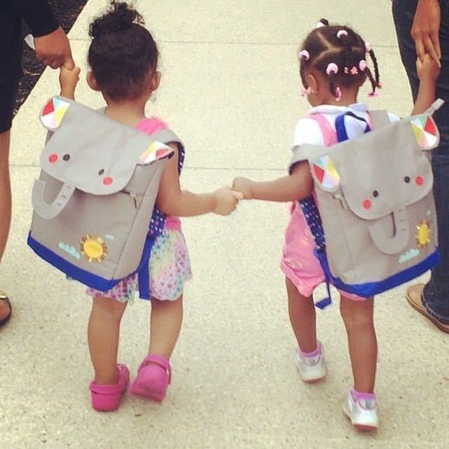Back to school means back to lugging around unwieldy backpacks for schoolkids, but many little ones who want to be just like their older siblings and role models love the idea of carrying their prized possessions on their backs.