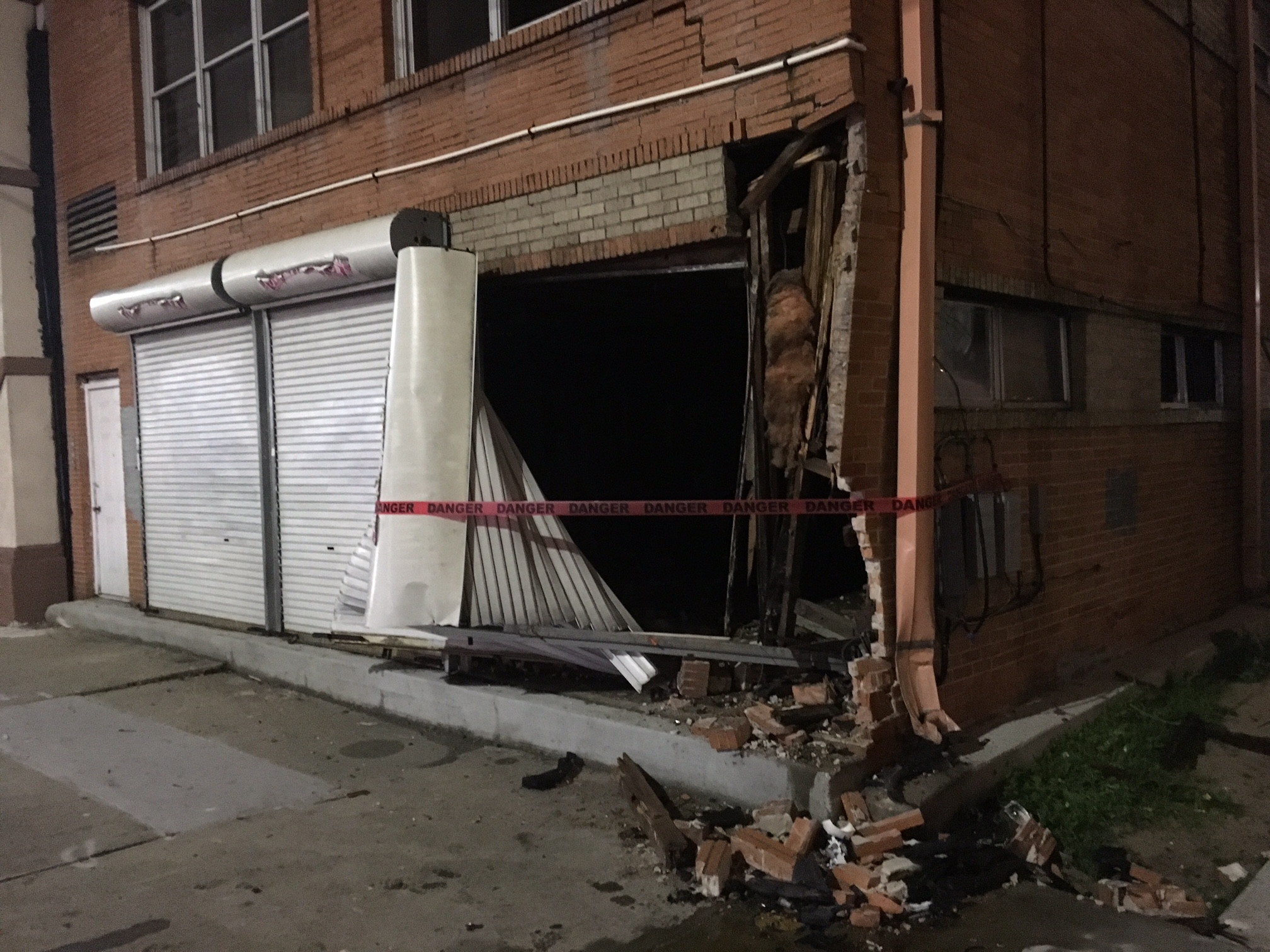 SUV Crashes into S. Broad St. Building