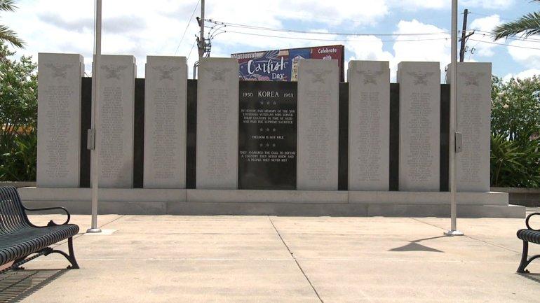 Korean War Memorial- Veterans Memorial Blvd. at Causeway Blvd. Metairie, La.