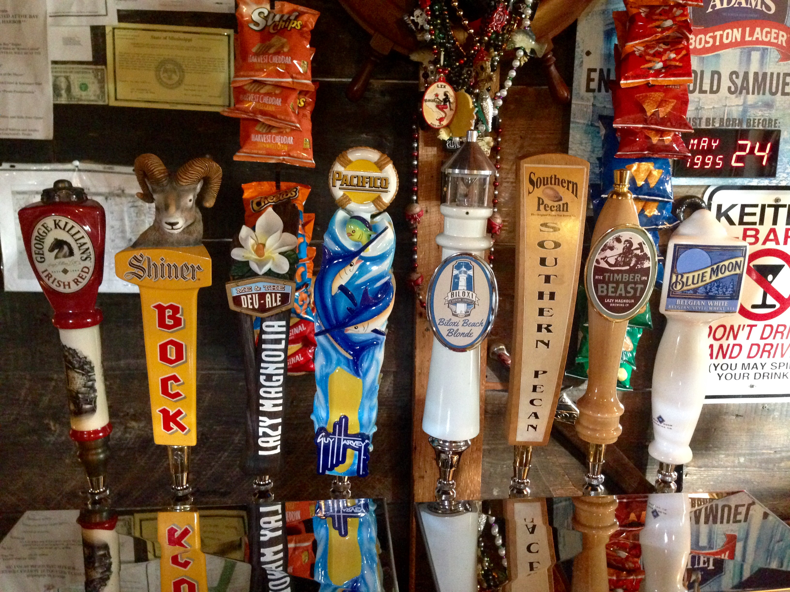 You can get 16 craft beers at this popular (and tiny!) hangout, adorned in pirate paraphernalia. (Stephanie Oswald/WGNO)