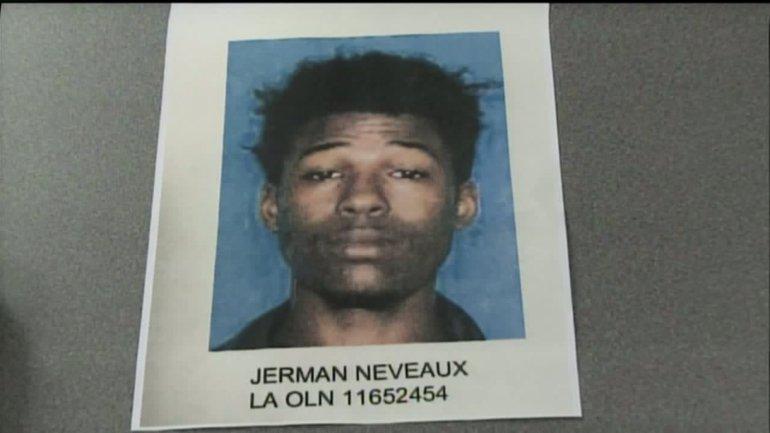 Shooting suspect Jerman Neveaux