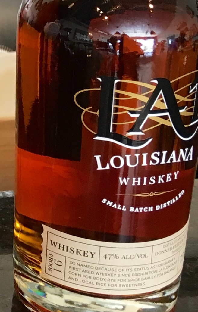 LA 1 whiskey is one of the 6 products distilled at the Donner-Peltier Distillery.