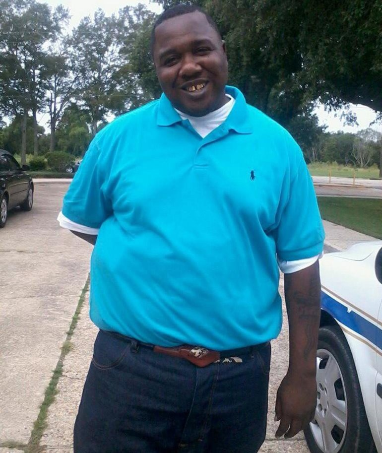 Alton Sterling, 37, was killed by police outside the Triple S Food Mart in Baton Rouge, Louisiana. (Facebook via CNN)