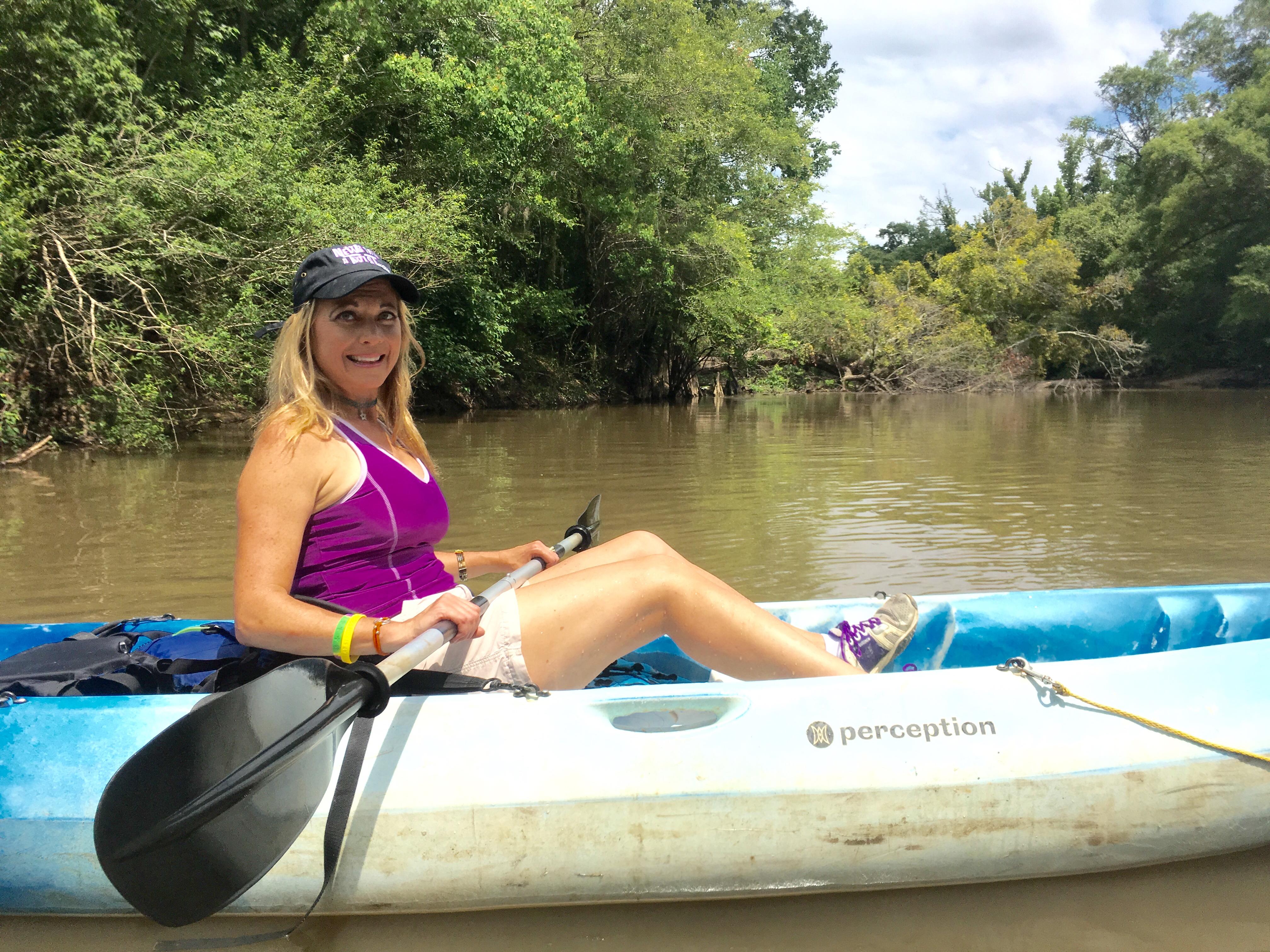 WGNO's Travel Girl, Stephanie Oswald.