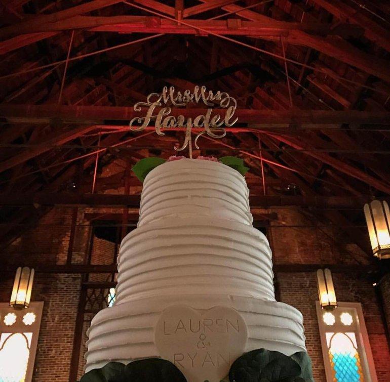 Haydel Wedding Cake (Lauren Thom)