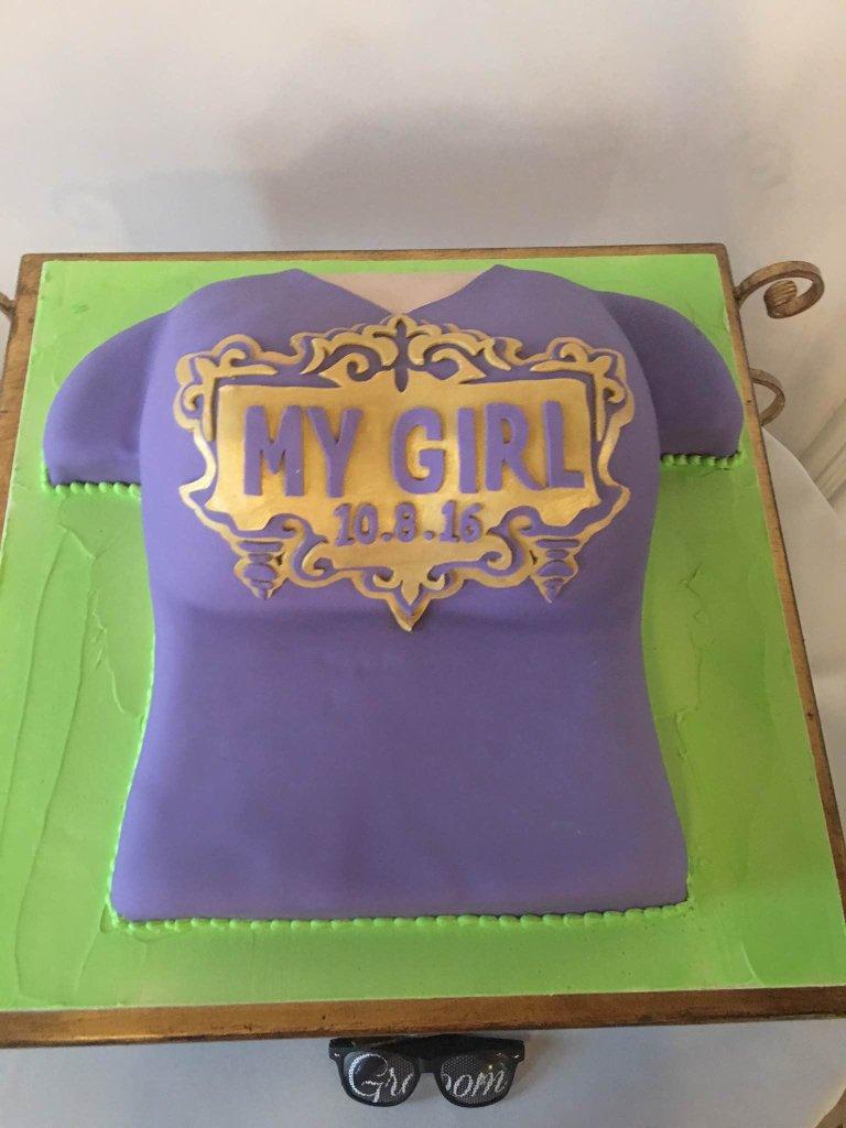 Ryan Hayel's groom cake. (Lauren Thom)
