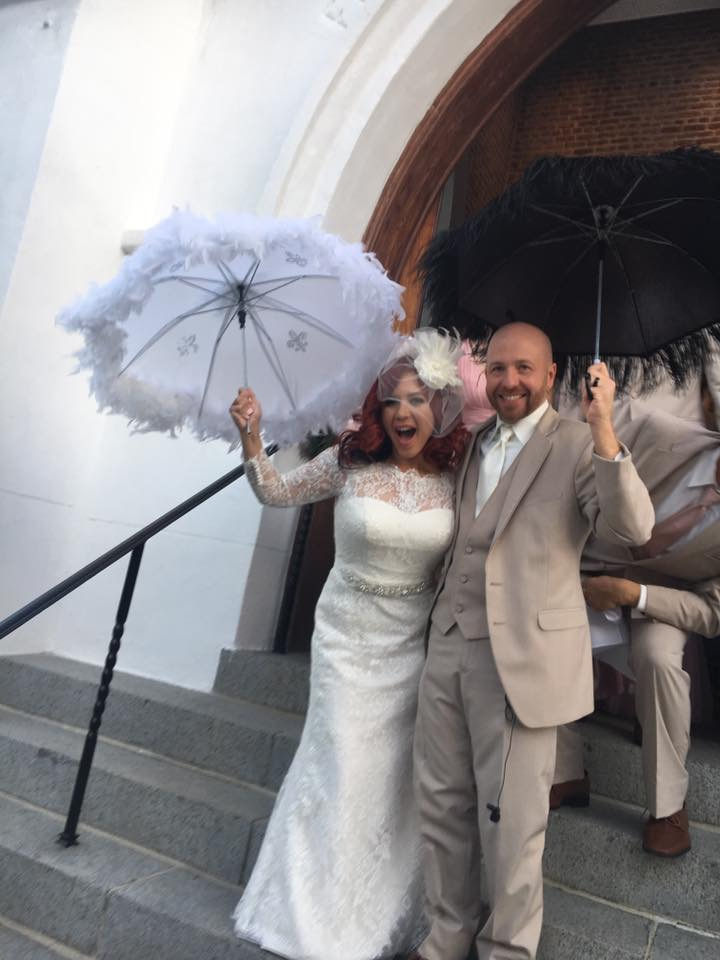 Mr. and Mrs Ryan Haydel