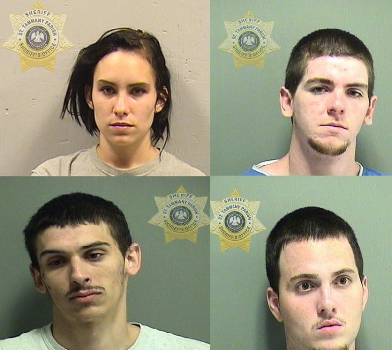 Photos courtesy the St. Tammany Parish Sheriff's Office