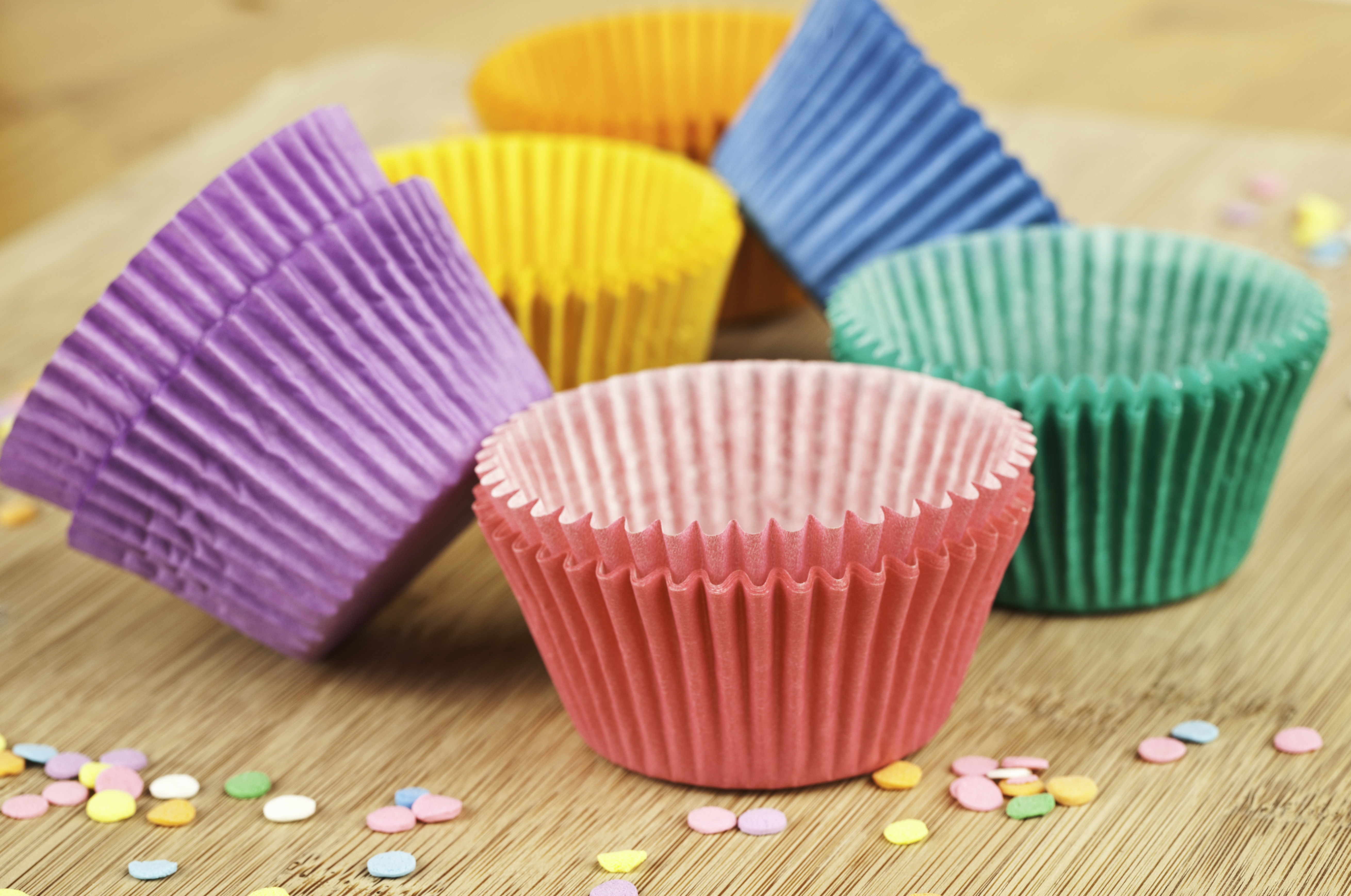 Colorful Cupcake Cases!